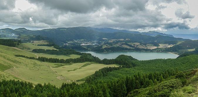 נוף וולרני באי סאו מיגל