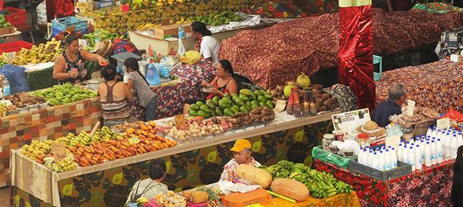 מבט על השוק של טהיטי